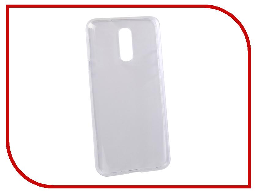 Аксессуар Чехол для LG Q7 Q610YB Svekla Silicone Transparent SV-LGQ610YB-WH аксессуар клипсы держатели bluelounge cableclip large blucc lg