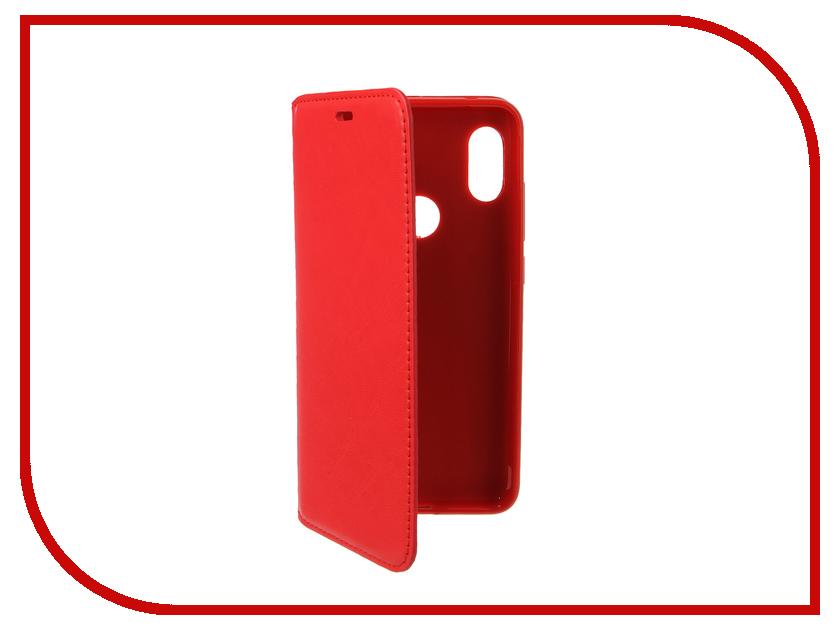 Аксессуар Чехол для Xiaomi Redmi Note 6 Pro Gurdini Premium Silicone Red 907600 110db loud security alarm siren horn speaker buzzer black red dc 6 16v