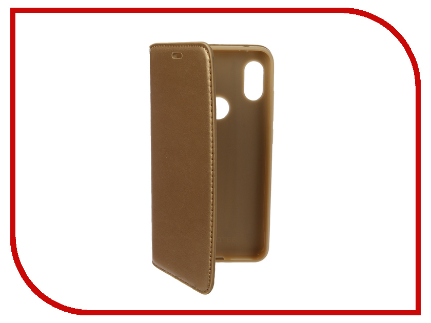 Аксессуар Чехол для Xiaomi Redmi Note 6 Pro Gurdini Premium Silicone Champagne 907594 аксессуар стекло противоударное для xiaomi redmi note 6 pro gurdini 2d full screen 0 26mm white 907618