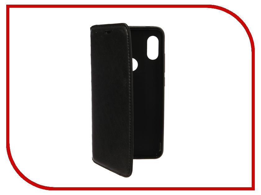 Аксессуар Чехол для Xiaomi Redmi Note 6 Pro Gurdini Premium Silicone Black 907595 аксессуар стекло противоударное для xiaomi redmi note 6 pro gurdini 2d full screen 0 26mm white 907618
