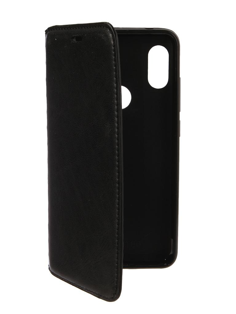 Аксессуар Чехол Gurdini для Xiaomi Redmi Note 6 Pro Premium Silicone Black 907595 аксессуар чехол для xiaomi redmi 6x mi a2 gurdini soft touch silicone blue 906609