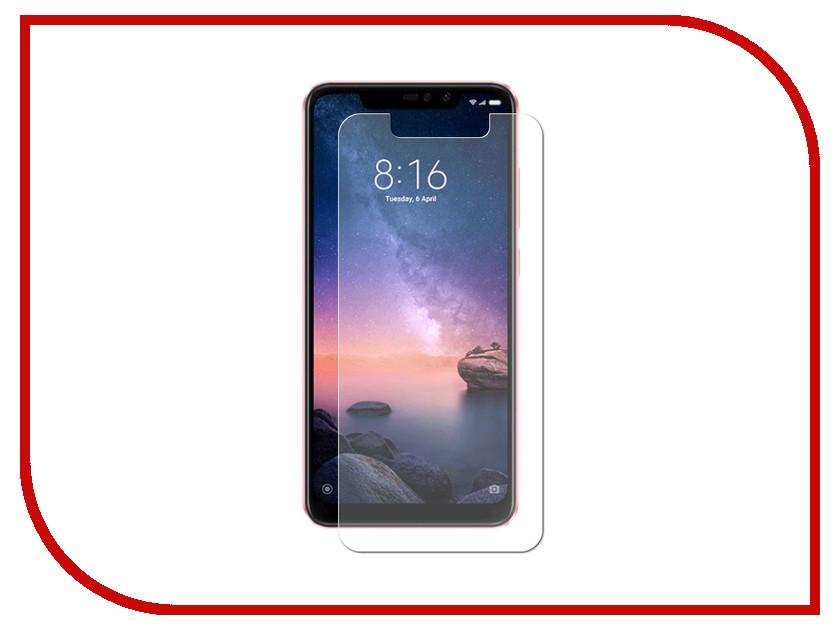 Аксессуар Стекло противоударное для Xiaomi Redmi Note 6 Pro Gurdini 0.3mm Transparent 907624 аксессуар стекло противоударное для xiaomi redmi note 6 pro gurdini 2d full screen 0 26mm white 907618