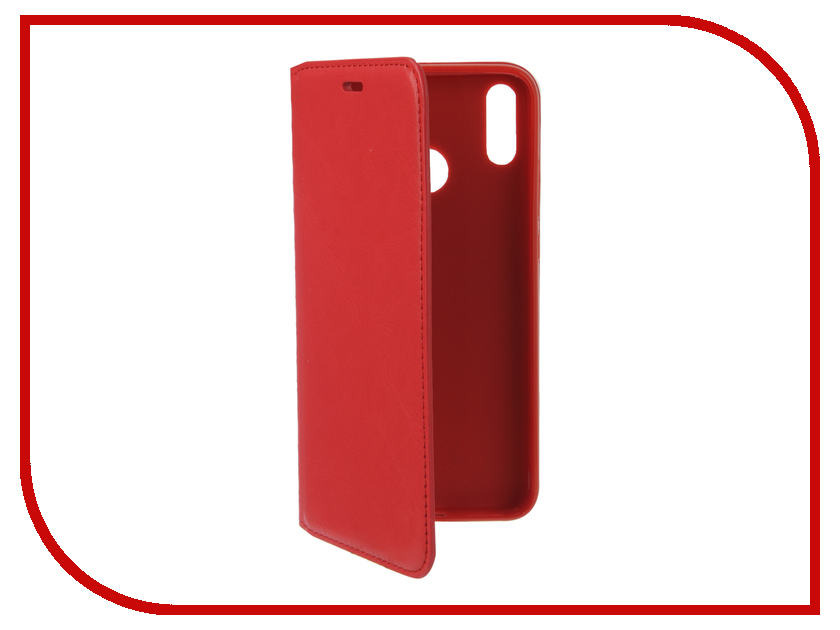Аксессуар Чехол для Huawei Honor 8X Gurdini Premium Silicone Red 907606 аксессуар чехол для huawei honor 7a pro gurdini premium silicone champagne 906541