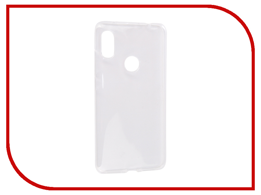 Аксессуар Чехол для Xiaomi Redmi Note 6 Pro Zibelino Ultra Thin Case Transparent ZUTC-XMI-RDM-NOT6-PRO-WHT gumai ultra thin protective case for xiaomi 6 black