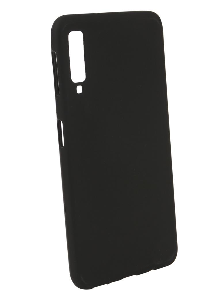 Аксессуар Чехол Zibelino для Samsung Galaxy A7 2018 A750F Soft Matte Black ZSM-SAM-A750F-BLK аксессуар чехол samsung galaxy a5 2017 zibelino classico black zcl sam a5 2017 blk