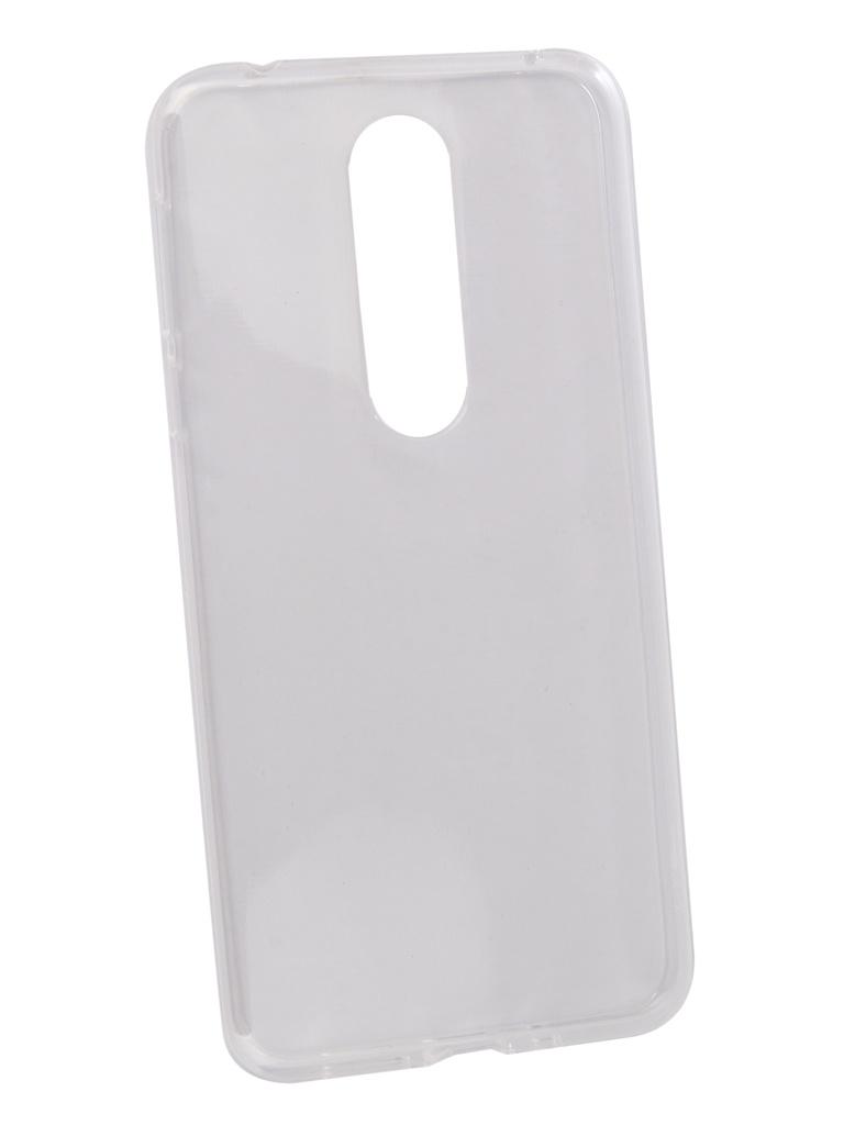 Аксессуар Чехол Zibelino для Nokia 7.1 2018 Ultra Thin Case Transparent ZUTC-NOK-7.1-WHT аксессуар чехол zibelino для motorola moto g7 power ultra thin case transparent zutc motr mot g7 pwr wht