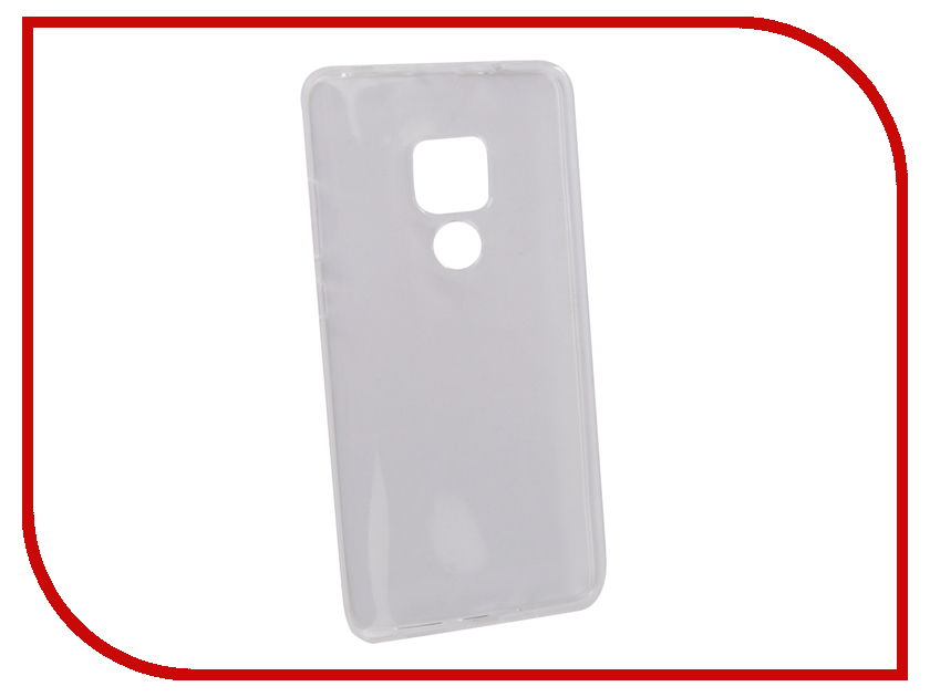 Аксессуар Чехол для Huawei Mate 20 Zibelino Ultra Thin Case Transparent ZUTC-HUA-MAT20-WHT moskii brand ultra thin pc shield case cover for huawei mate7