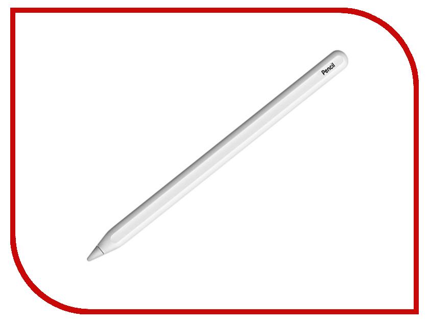 Аксессуар Стилус APPLE Pencil для iPad Pro 2-го поколения MU8F2ZM/A escase ipad стилус емкостный планшет и стилус телефон подарок строп ipad apple general android китайский красный