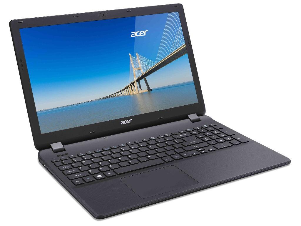 купить Ноутбук Acer Extensa EX2519-C54U NX.EFAER.113 Black (Intel Celeron N3060 1.6 GHz/2048Mb/500Gb/No ODD/Intel HD Graphics/Wi-Fi/Cam/15.6/1366x768/Linux) по цене 16901 рублей