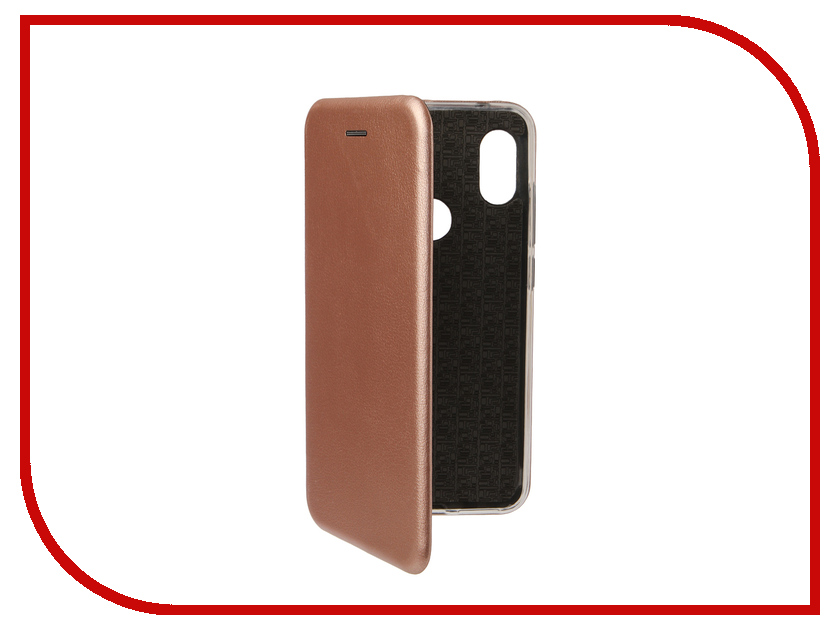 Аксессуар Чехол для Xiaomi Redmi Note 6 Pro Zibelino Book Rose Gold ZB-XIA-RDM-NOT6-PR-RGLD