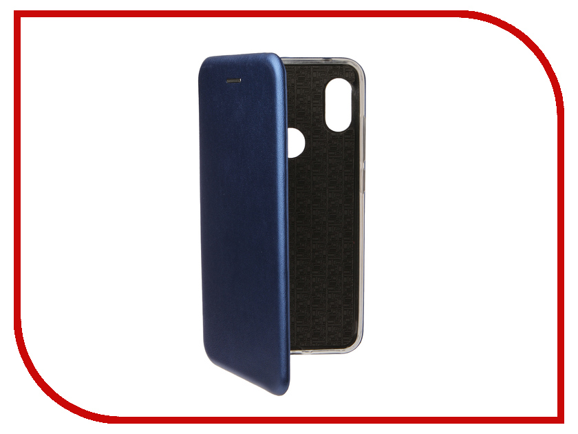 Аксессуар Чехол для Xiaomi Redmi Note 6 Pro Zibelino Book Blue ZB-XIA-RDM-NOT6-PR-BLU аксессуар чехол для xiaomi redmi 5 plus zibelino book black zb xia rdm 5pl blk