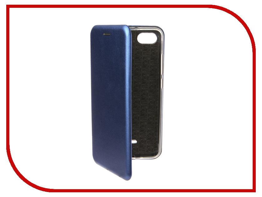 Аксессуар Чехол для Xiaomi Redmi 6A Zibelino Book Blue ZB-XIA-RDM-6A-BLU аксессуар чехол для xiaomi redmi 6a zibelino ultra thin case white zutc xmi rdm 6a wht