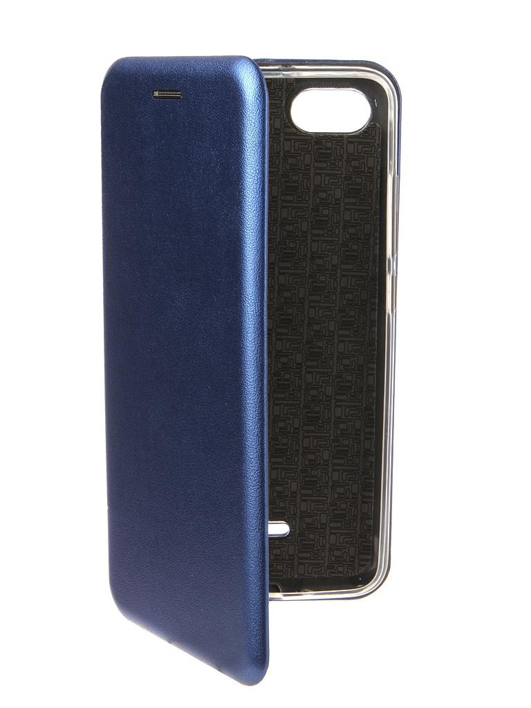 Аксессуар Чехол Zibelino для Xiaomi Redmi 6A Book Blue ZB-XIA-RDM-6A-BLU