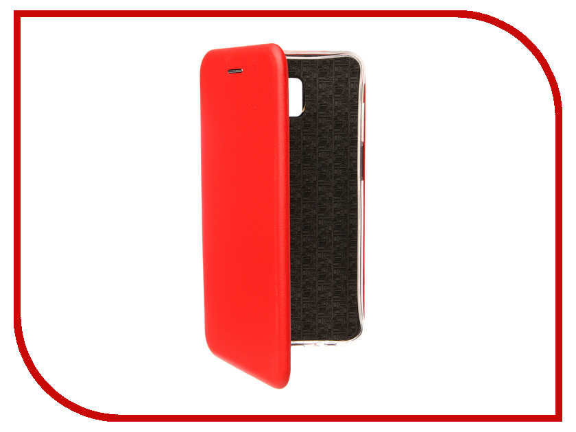 Аксессуар Чехол для Samsung Galaxy J6 Plus J610F 2018 Zibelino Book Red ZB-SAM-J610F-RED аксессуар чехол для samsung a8 2018 a530 zibelino clear view blue zcv sam a530 blu