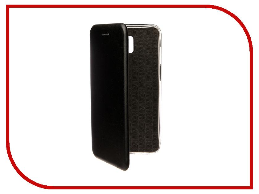 Аксессуар Чехол для Samsung Galaxy J6 Plus J610F 2018 Zibelino Book Black ZB-SAM-J610F-BLK аксессуар чехол для samsung a8 plus 2018 a730 zibelino clear view black zcv sam a730 blk