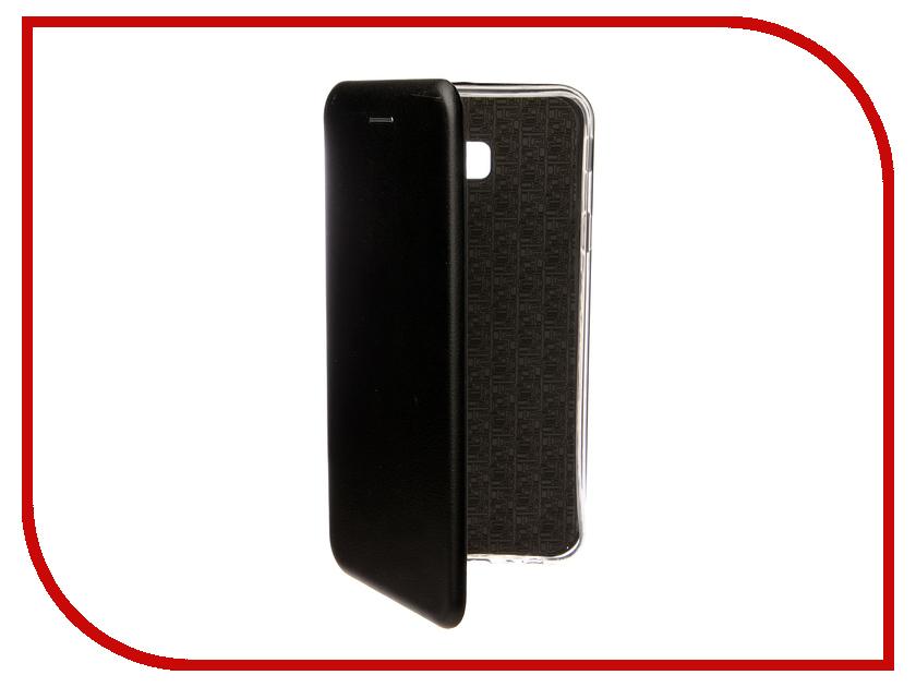 Аксессуар Чехол для Samsung Galaxy J4 Plus J415F 2018 Zibelino Book Black ZB-SAM-J415F-BLK аксессуар чехол для samsung galaxy note 5 zibelino clear view black zcv sam not 5 blk