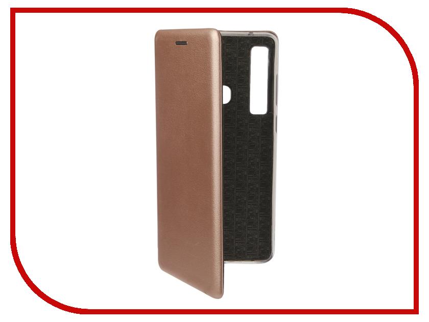 Аксессуар Чехол для Samsung Galaxy A9 A920 2018 Zibelino Book Pink Gold ZB-SAM-A920-PGLD аксессуар чехол для samsung a8 2018 a530 zibelino clear view blue zcv sam a530 blu