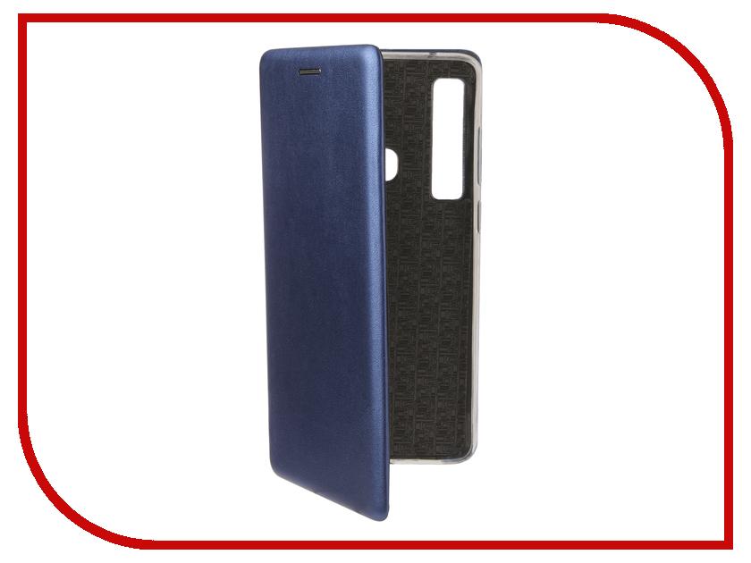 Аксессуар Чехол для Samsung Galaxy A9 A920 2018 Zibelino Book Blue ZB-SAM-A920-BLU аксессуар чехол для samsung a8 2018 a530 zibelino clear view blue zcv sam a530 blu