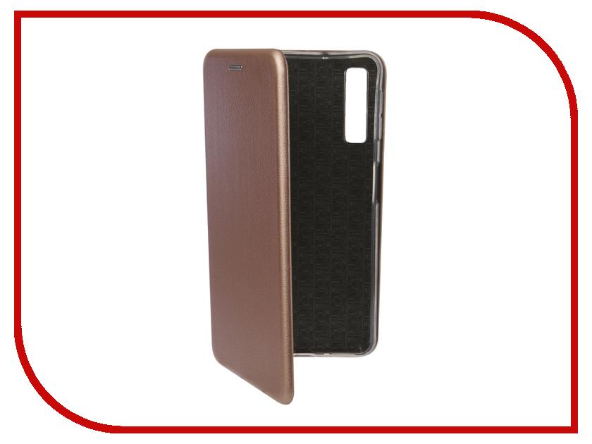 Аксессуар Чехол для Samsung Galaxy A7 A750F 2018 Zibelino Book Pink Gold ZB-SAM-A750-PGLD аксессуар чехол для samsung galaxy a7 2017 aksberry air case pink