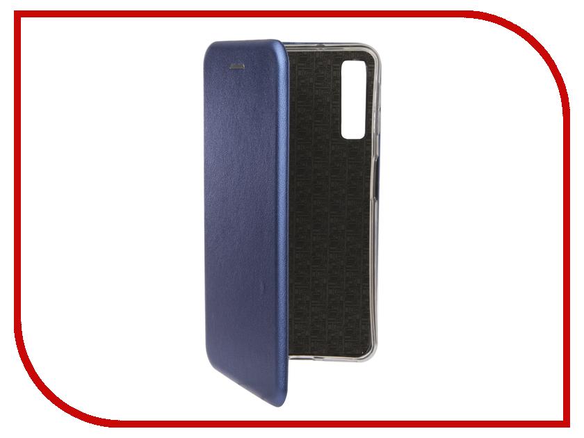 Аксессуар Чехол для Samsung Galaxy A7 A750F 2018 Zibelino Book Blue ZB-SAM-A750-BLU аксессуар чехол samsung j3 2017 j330f zibelino clear view black zcv sam j330 blk