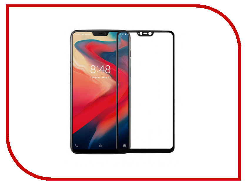 Аксессуар Защитное стекло для OnePlus 6 Red Line Full Screen Tempered Glass Full Glue Black УТ000016738 цена