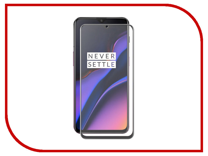Аксессуар Защитное стекло для OnePlus 6T Red Line Full Screen Tempered Glass Full Glue Black УТ000016739 black new 7 85 inch regulus 2 itwgn785 tablet touch screen panel digitizer glass sensor replacement free shipping