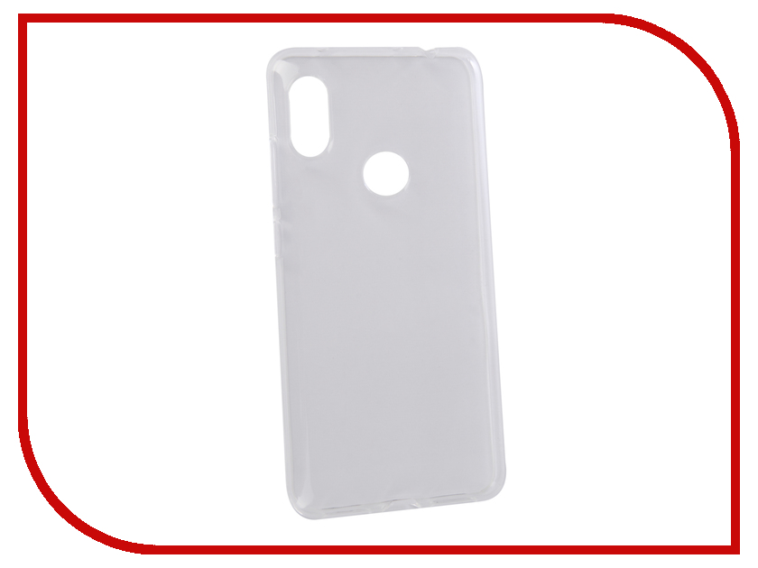 Аксессуар Чехол для Xiaomi Redmi Note 6 Pro Svekla Silicone Transparent SV-XIREDN6P-WH аксессуар чехол для xiaomi redmi 6 pro gecko transparent white s g xir6pro wh