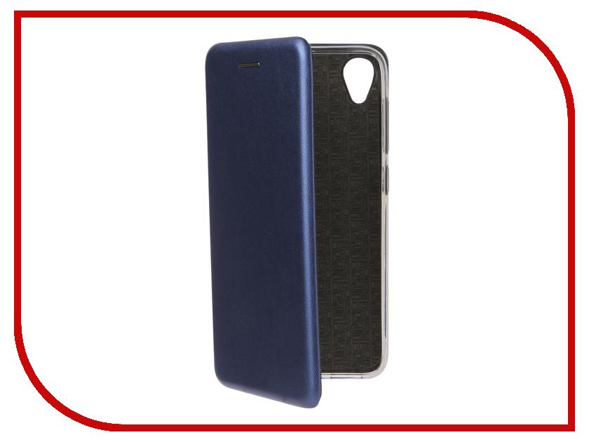 Аксессуар Чехол для ASUS ZenFone Live L1 ZA550KL/G552KL Zibelino Book Blue ZB-ASUS-ZA550KL-BLU сотовый телефон asus zenfone live l1 za550kl 16gb black