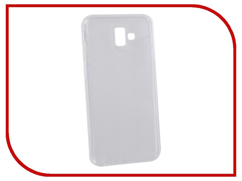 Аксессуар Чехол для Samsung Galaxy J6 Plus 2018 J610F Svekla Silicone Transparent SV-SGJ610F-WH protective clear screen protector film guard for samsung galaxy mega 6 3 i9200 transparent