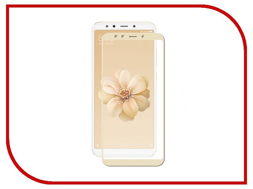 Аксессуар Защитное стекло для Xiaomi Mi A2 / Mi6X Svekla Full Screen Gold ZS-SVXIMIA2-FSGOLD цена