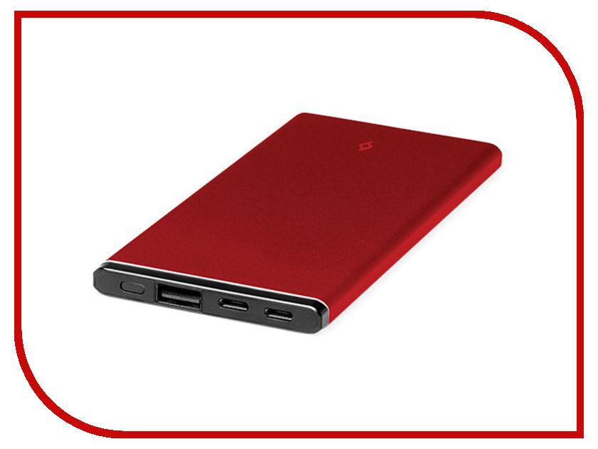 Аккумулятор ttec AlumiSlim 5000 mAh Red аккумулятор water element p10 mini 7500 mah red 52204