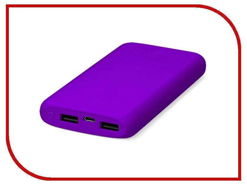 Аккумулятор ttec PowerSlim 10000 mAh Violet 2BB133MR аккумулятор ttec powerslim 10000 mah 2bb133b white tec 8694470643656