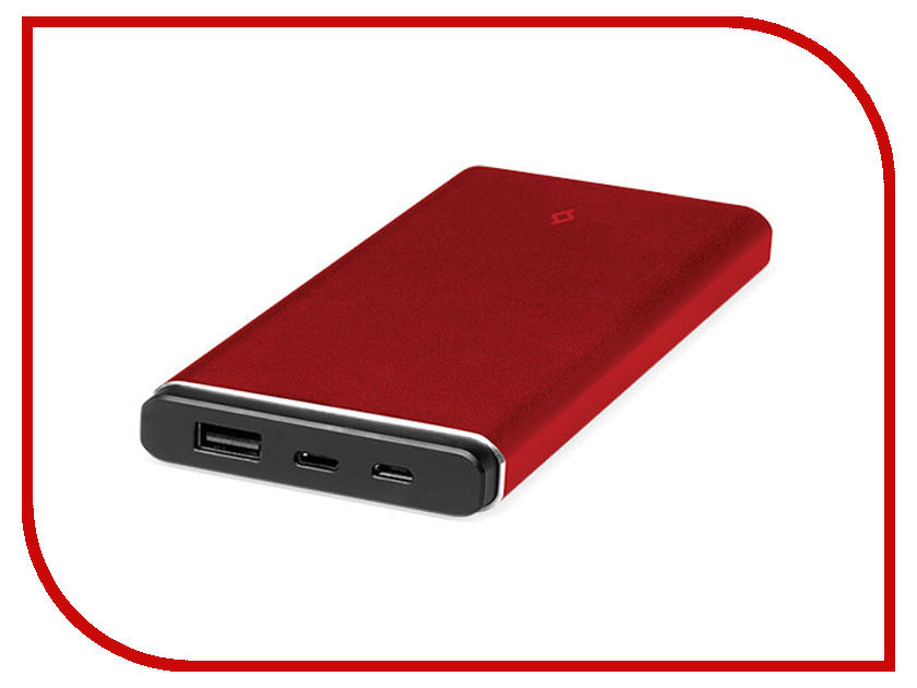 Аккумулятор TTEC 2BB141K 10000mAh Red TEC-8694470643618 аккумулятор ttec 2bb140b 10000mah white tec 8694470646855