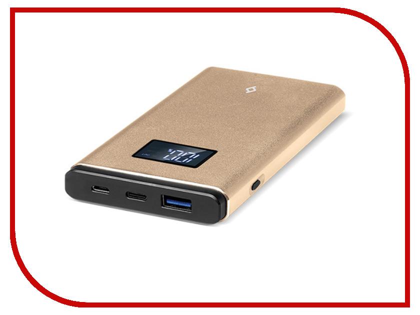 Аккумулятор ttec AlumiSlim QC 3.0 10000 mAh Gold 2BB145A аккумулятор ttec powerslim 10000 mah 2bb133b white tec 8694470643656