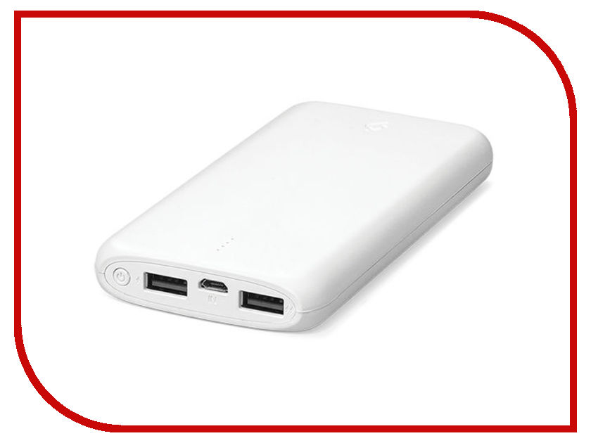 Аккумулятор TTEC 2BB140B 10000mAh White TEC-8694470646855 аккумулятор activ pb10 03 10000mah white grey 63769