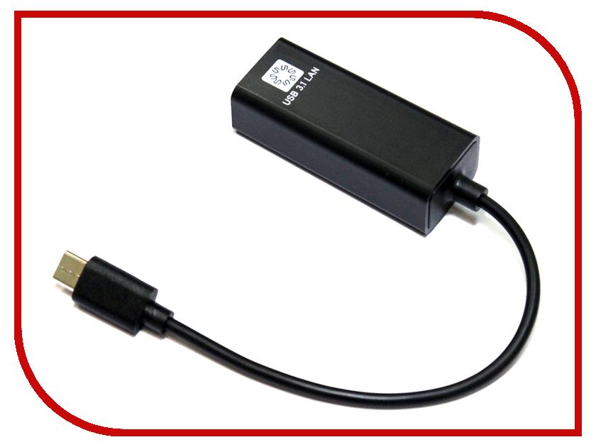 Сетевая карта 5bites USB 3.1 - RJ45 100Mb Black UA3C-45-08BK