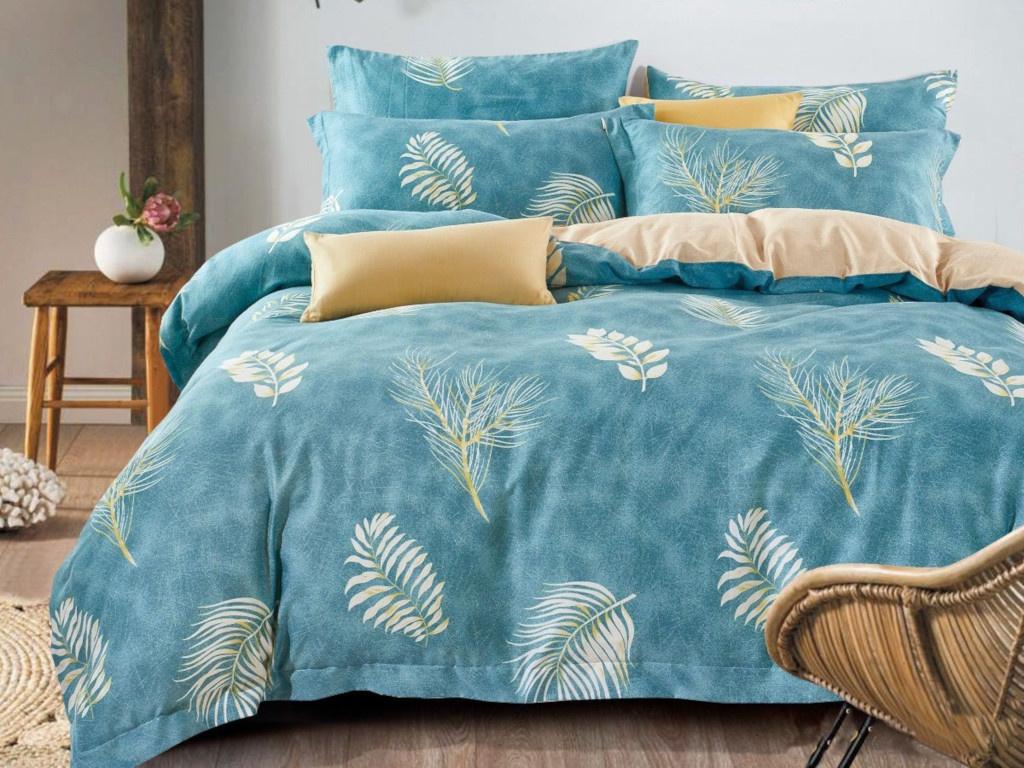 все цены на Постельное белье Cleo Satin Lux 15/314-SL Комплект 1.5 спальный Сатин онлайн