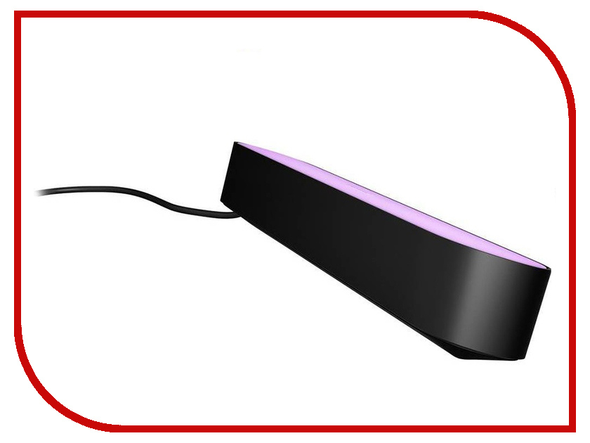 Светильник Philips Hue Play Black 915005734101 помада mac cosmetics glaze lipstick hue цвет hue variant hex name f19b92