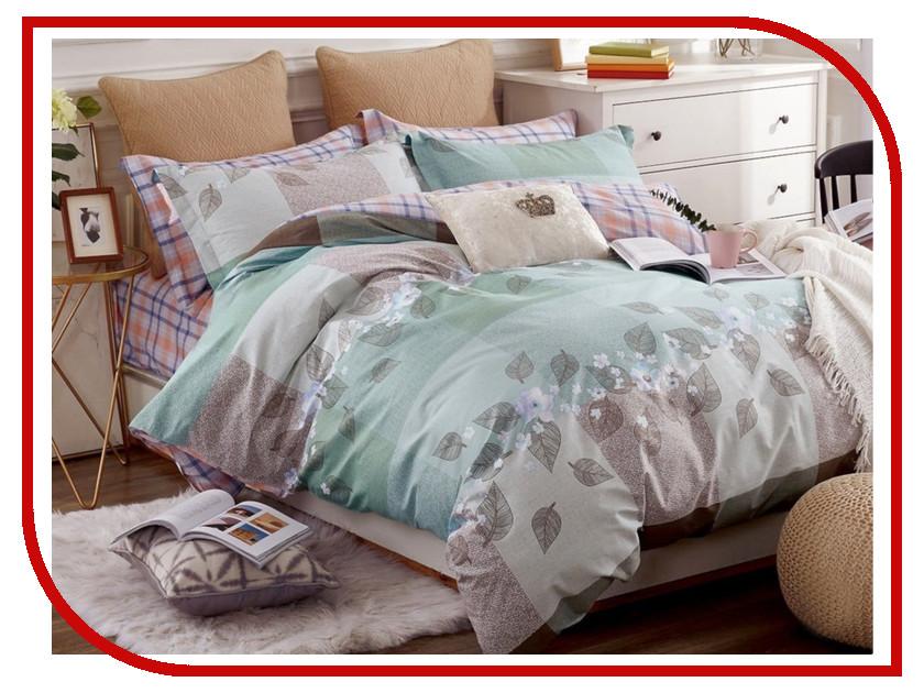 Постельное белье Cleo Satin Lux 15/293-SL Комплект 1.5 спальный Сатин anne klein 1442 bkgb