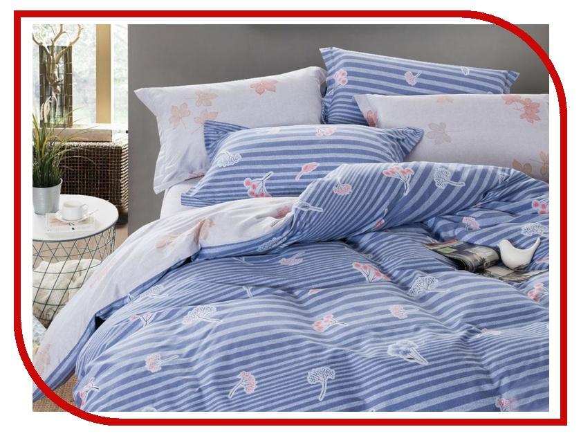 Постельное белье Cleo Satin Lux 31/312-SL Комплект Евро Сатин постельное белье экзотика кензо комплект евро сатин