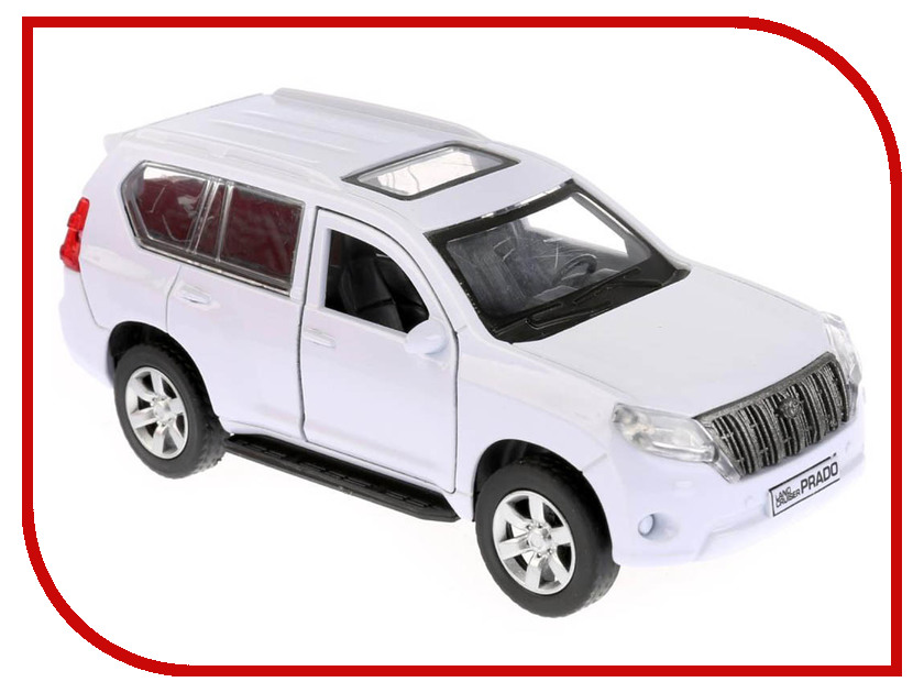 Игрушка Технопарк Toyota Prado PRADO-M high quality old style abs unpainted lamp tail spoiler roof spoiler wing fit for toyot prado for prado 2700 4000 grj120