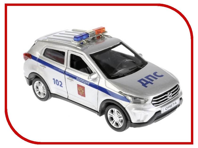 Игрушка Технопарк Hyundai Creta Полиция CRETA-P-SL цена