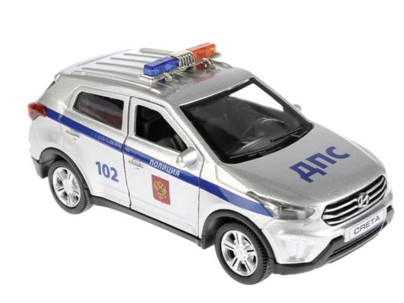 Игрушка Технопарк Hyundai Creta Полиция CRETA-P-SL фото