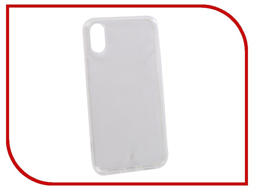 все цены на Аксессуар Чехол для APPLE iPhone X TTEC 2PNS136SF Transparent TEC-8694470659855