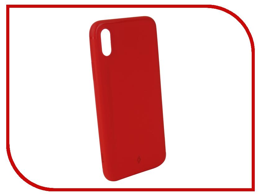 Аксессуар Чехол для APPLE iPhone X TTEC 2PNS137K Red TEC-8694470733098 ttec 2km112b white tec 8694470650173