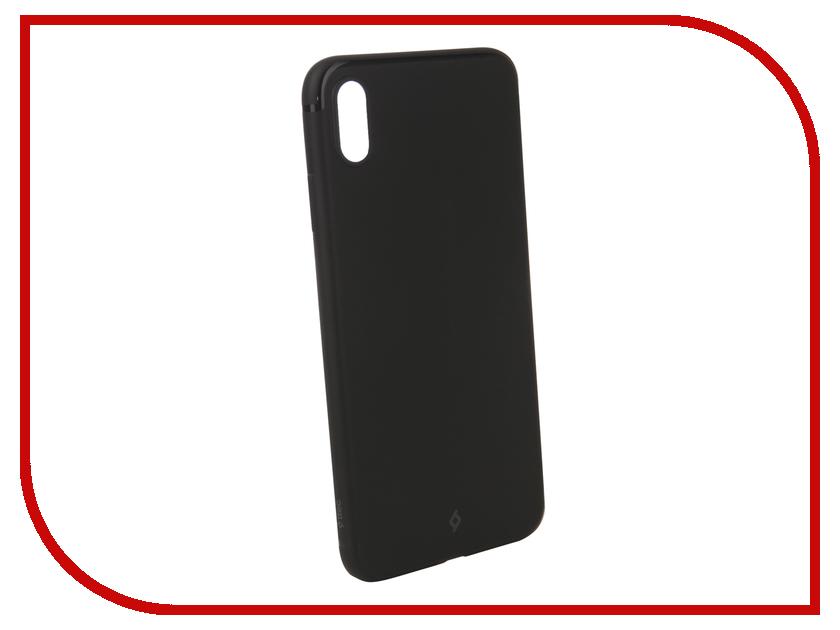 Аксессуар Чехол для APPLE iPhone XS Max TTEC 2PNS187S Black TEC-8694470733135 ttec 2km112b white tec 8694470650173