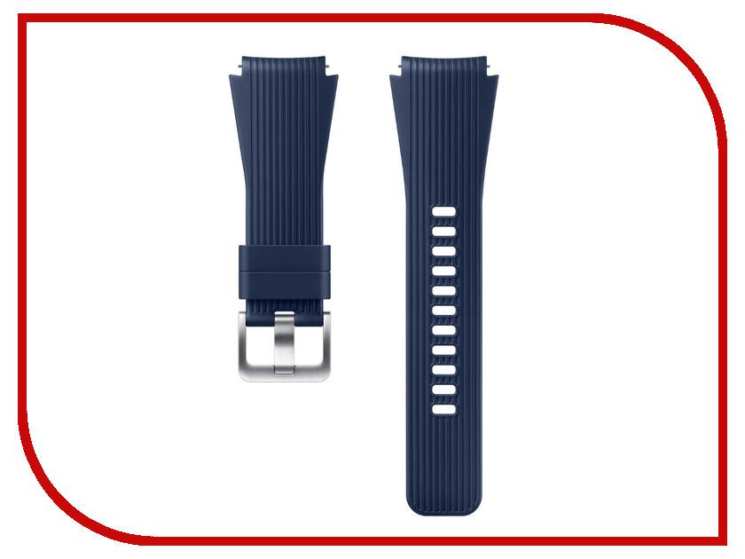 Аксессуар Ремешок Samsung Galaxy Watch 46mm Silicone Blue ET-YSU80MLEGRU