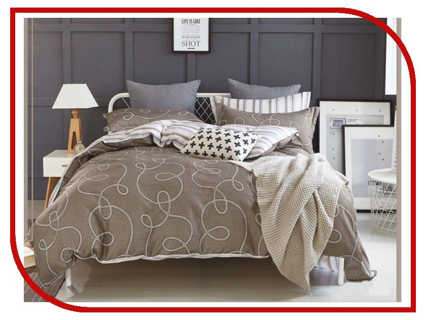 Постельное белье Cleo Satin Lux 31/208-SL Комплект Евро Сатин постельное белье экзотика кензо комплект евро сатин