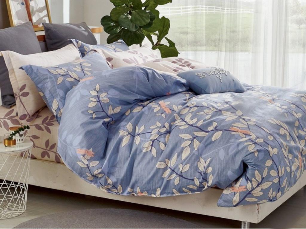 Постельное белье Cleo Satin Lux 41/294-SL Комплект Дуэт Сатин
