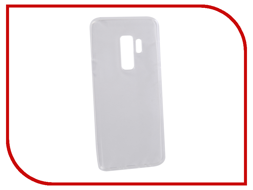 Аксессуар Чехол для Samsung Galaxy S9+ LuxCase TPU Transparent 60071 аксессуар